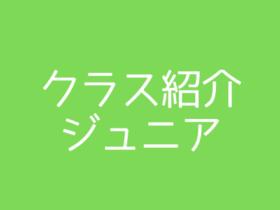 650×330 280x210 - クラス紹介(ジュニア)