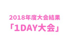 「1DAY大会」650×330 1 280x210 - 2018年度大会結果「1day大会」