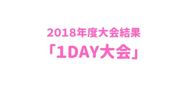 「1DAY大会」650×330 1 - 2018年度大会結果「1day大会」