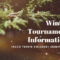 winter Tournament Information 60x60 - 2019年12月~2020年1月の1day 大会情報