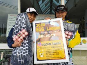 EGGビギナー2020.12.3 栗林・三桝ペア 300x225 - 2020年度月例大会優勝者の写真